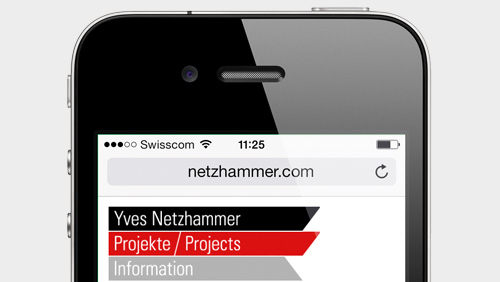 Yves Netzhammer – Webseite