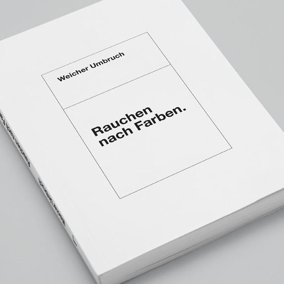 Maximale Reduktion #2:<br />Rauchen nach Farben (Buch)<br />Versand Schweiz
