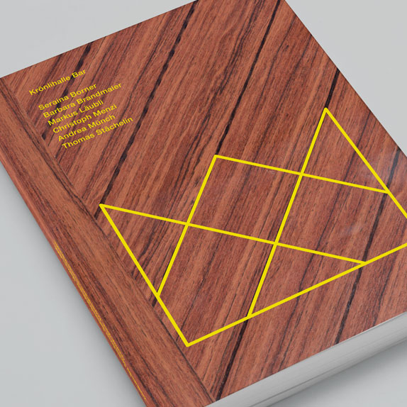 Krönlihalle Bar:<br />Dokumentation (Buch)<br />Versand Schweiz