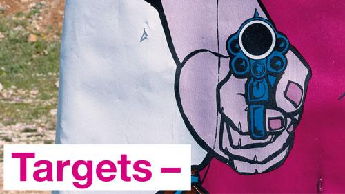 Museum für Gestaltung – «Targets», Kommunikationsgrafik